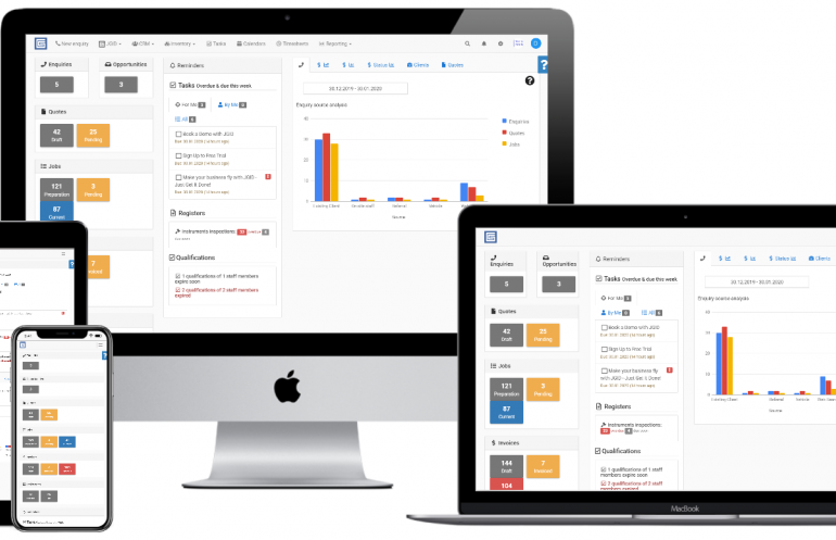 JGID Job Management Software