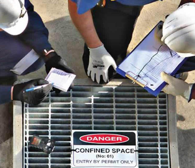 confined spaces industry