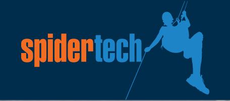Spidertech logo - JGID Job Management Software